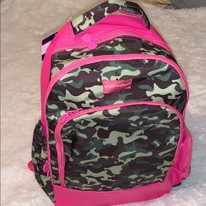 Simply Southern green camo backpack